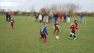 Wheldrake v Monk Fryston United under 7's 2nd March 2019.
