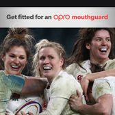 OPRO mouthguard fitting