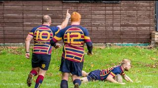 Rugeley 22 Wheats 37: A Game of 2 halves