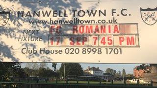 Hanwell Town 6 FC Romania 0