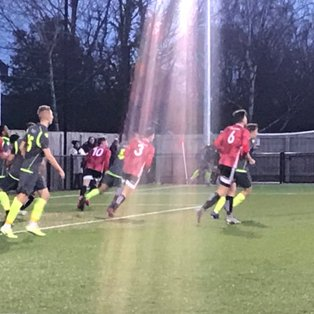 Bracknell Town 1 Hanwell Town 1