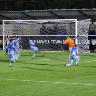 Hanwell Town 5 Sutton Common Rovers 1