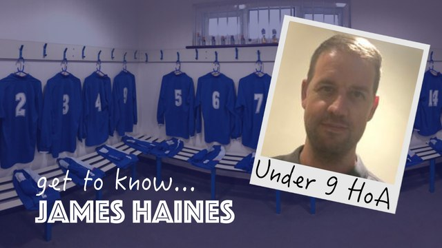 Get To Know... James Haines