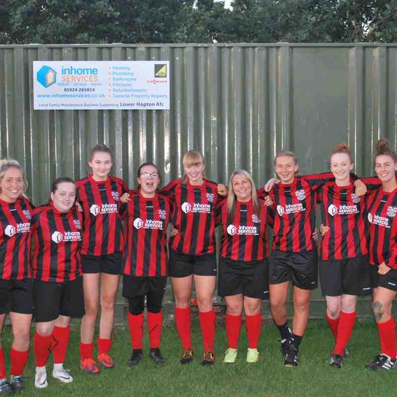Lower Hopton Ladies 18/19 Season