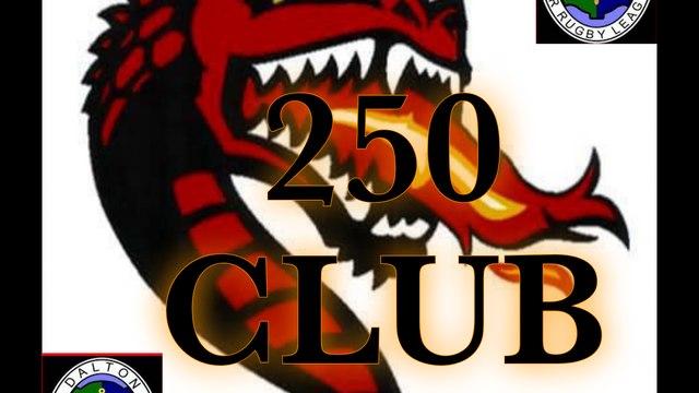 Dalton ARLFC 250 Club September 2021 Winners