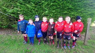 Under 8's vs Old Brentwoods
