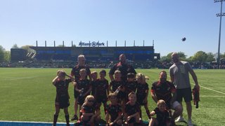 Under 8's At Saracen's Festival 5th May