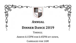 Dinner Dance 2019