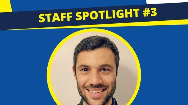 Staff Spotlight #3