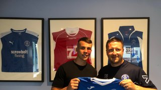 Tom Woerndl signs for the Blues