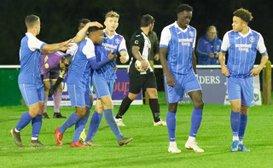 Woodbridge Town 1-3 Leiston - Suffolk Premier Cup Match Report