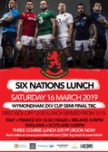 Six Nations Lunch