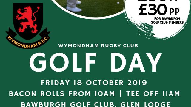 Wymondham Rugby Club Golf Day
