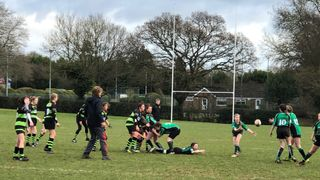 U13s Girls v Guernsey in a friendly