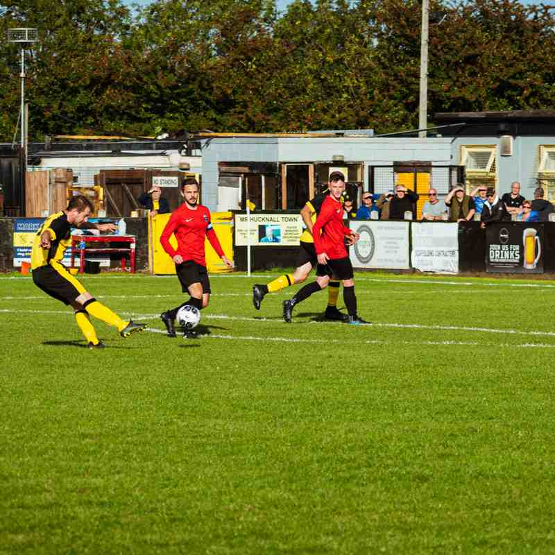 Hucknall Town v Shirebrook Town - 12th September 2020