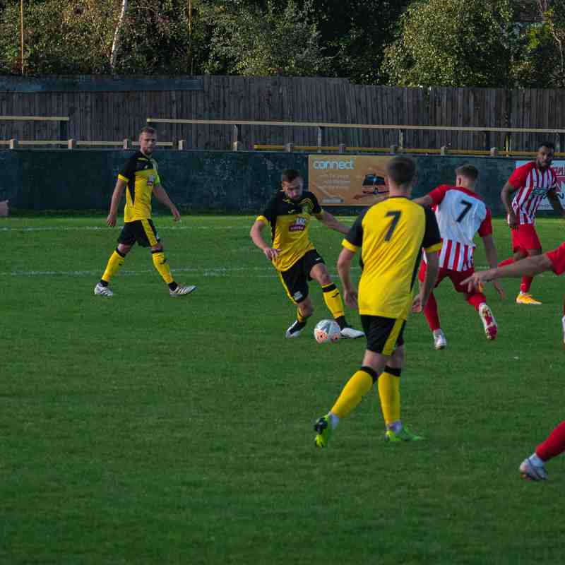 Hucknall Town FC v Anstey Nomads 19th September 2020