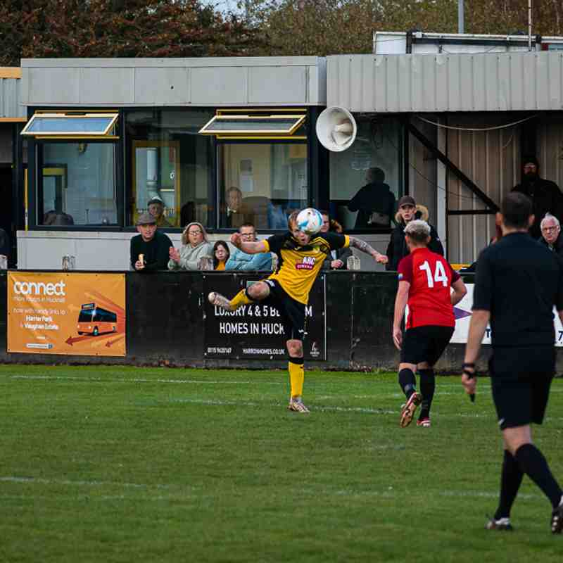Hucknall Town v Teversal - 10th October 2020