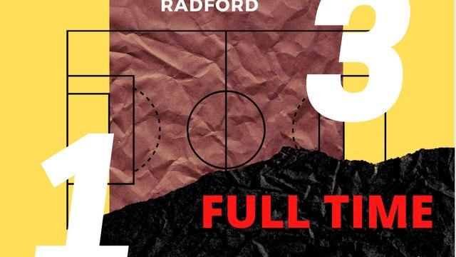 Radford end unbeaten run for Yellows