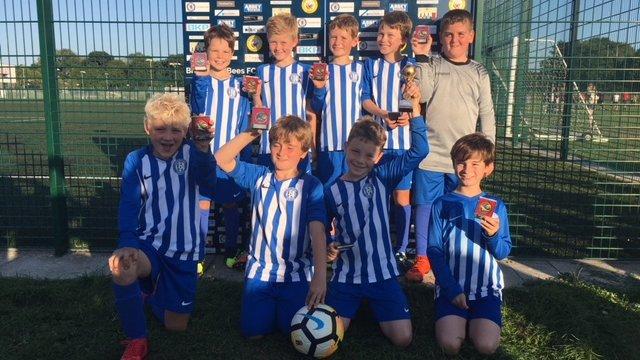 Littleton U10 Rangers Win the Braishfield Tournament Plate Competition