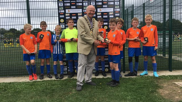 U11 Rangers win at Braishfield for Third Year in a row