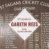 Gareth Rees named new St Fagans skipper