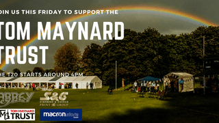 Join us this Friday for the Tom Maynard Trust Day