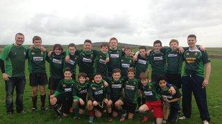 02.11.13 U14's Team at Orkney
