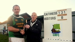 Duffy Donation and Man of the match