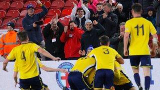Marske United 2-2p Scarborough - Match Report + Photos