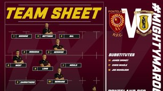 Maroons Name Squad to Face Guisborough