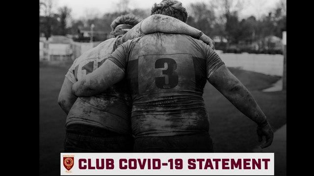 COVID-19 - TRAINING UPDATE