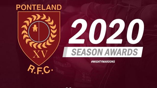 Ponteland Rugby Club 2019/20 Awards