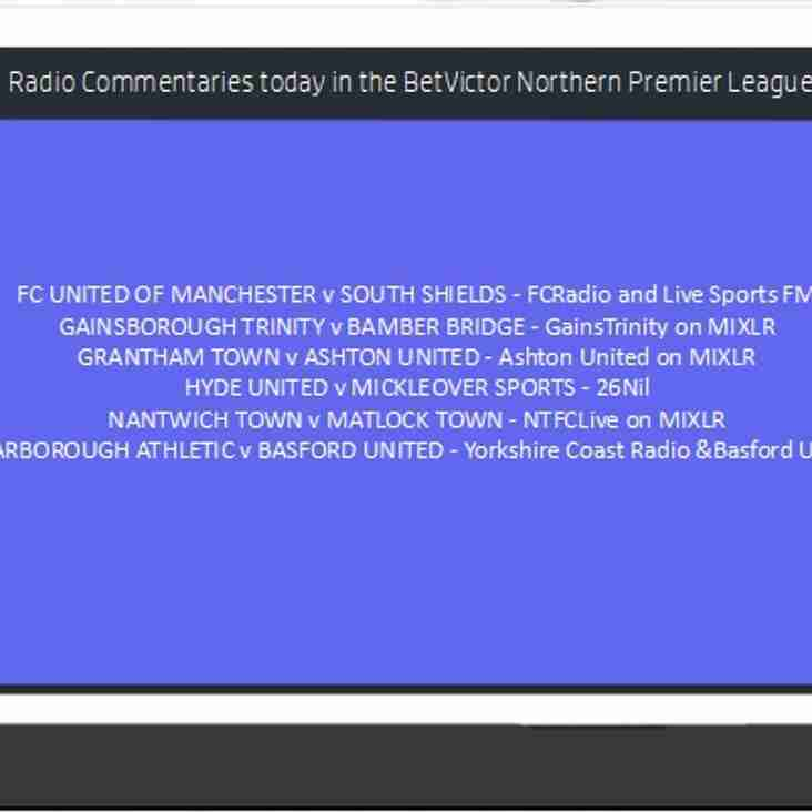 Radio Commentaries this evening