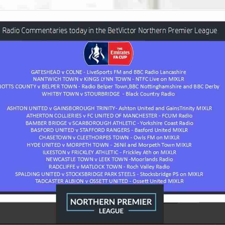 FA Cup and League Radio Commentaries