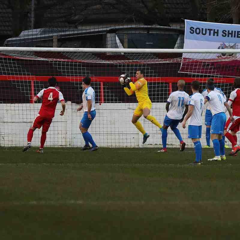 Ashton United 0-2 South Shields - Darren Murphy