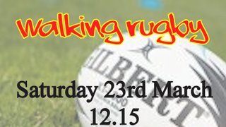 Walking Rugby - Free taster sessions