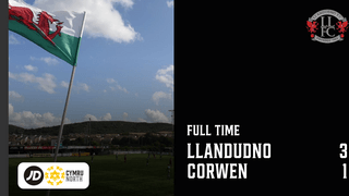MATCH REPORT: Llandudno comfortably see off Corwen despite going behind early on