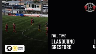 MATCH REPORT: Llandudno beaten by Gresford Athletic