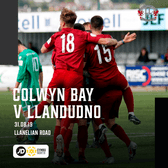MATCH PREVIEW | First away trip of the season at Colwyn Bay this Saturday.