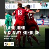 MATCH PREVIEW: Conwy Borough next up for Llandudno