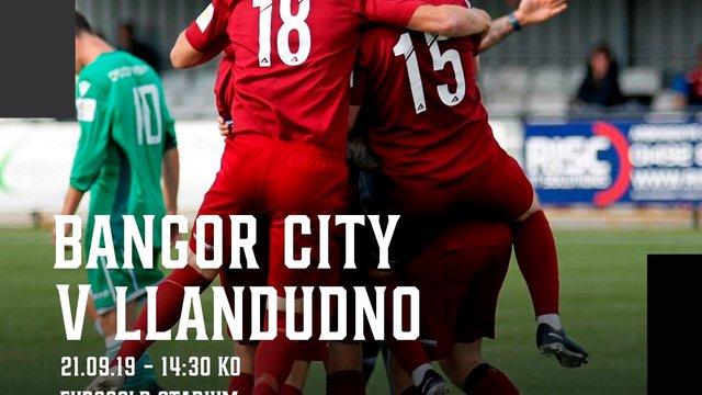 MATCH PREVIEW: Llandudno travel to Bangor City tomorrow in the JD Cymru North