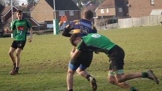 County Cup quarter-finals vs Uckfield 1st Half