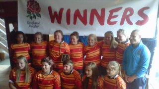Winners at the National 7s