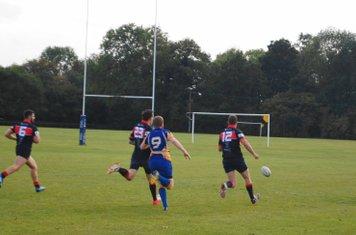 A kick and chase