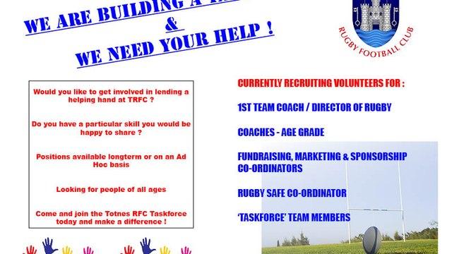 We need Your Help !