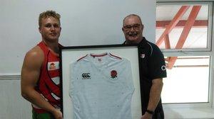 Ethan Pearce-Cowley Donates Shirt