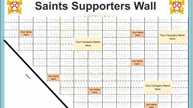The Saints 'Buy a Brick' Campaign