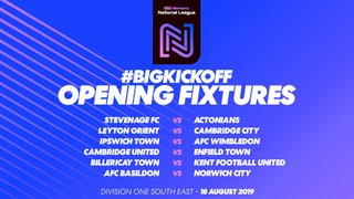 FA Women's National League Fixtures for 2019/2020 released!