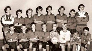 Earliest Wyvern Youth FC Team?