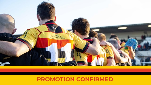 RICHMOND RUGBY STATEMENT: PROMOTION CONFIRMED